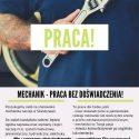 Mechanik - praca bez doświadczenia!